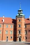 Kungligt slott, Warsaw Royaltyfri Bild