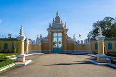 Kungligt ställe i Phnom Penh Royaltyfria Bilder