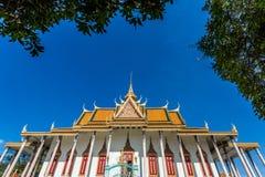Kungligt ställe i Phnom Penh Royaltyfri Fotografi