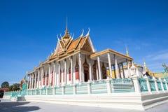 Kungligt ställe i Phnom Penh Arkivfoto