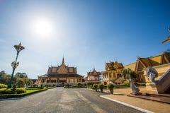 Kungligt ställe i Phnom Penh Arkivbild