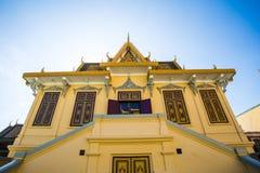 Kungligt ställe i Phnom Penh Royaltyfri Bild