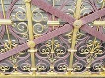 Kungligt staket arkivfoton