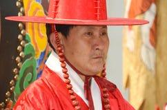 Kungligt Vakt-ändra för Deoksugung slott Royaltyfri Fotografi