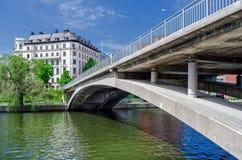 Kungsbron (国王的Bridge),瑞典 库存照片
