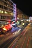 Kungsgatan in Stockholm Royalty Free Stock Image