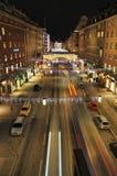 Kungsgatan w Sztokholm Obrazy Stock
