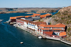 Kungshamn - Швеция стоковое фото rf