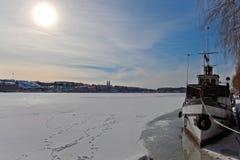 kungsholmen пристань стоковые фотографии rf
