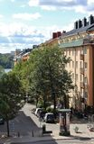 A Kungsholmen a Stoccolma Fotografie Stock Libere da Diritti