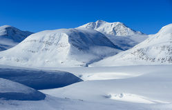 Kungsleden mountains Stock Photo
