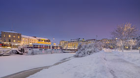 Kungsportsplatsen the King`s Port in Gothenburg city, Sweden. Royalty Free Stock Photo