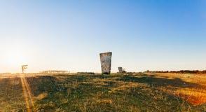 Kungsstenen на Ã-земле в Швеции Стоковое Изображение
