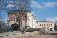 Kungur,俄罗斯- 4月16 2016年:商人类的历史博物馆  免版税图库摄影