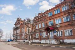 Kungur,俄罗斯- 4月16 2016年:大厦市议会 图库摄影