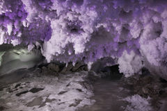 Kungur Ice Cave. Perm Krai. Russia.  royalty free stock image