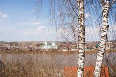 Kungur, Russland - 16. April 2016: Kirche der Transfiguration stockfoto