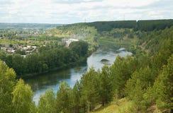 kungur sylva ποταμών Στοκ Εικόνες