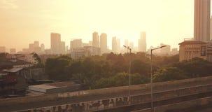 Kuningan CBD美好的空中风景  影视素材