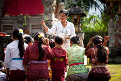 Kuningan Festival in Bali Royalty Free Stock Photo