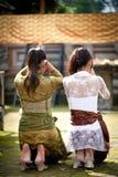 Kuningan Festival in Bali Stock Image