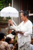 Kuningan Festival in Bali Stock Photos