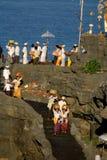 Kuninganfestival, Bali Indonesië royalty-vrije stock afbeelding