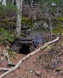 Kunjamuk Cave in Adirondacks Stock Photos