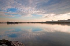 Kunming湖 免版税图库摄影