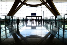 Kunming Changshui Airport Entrance Royalty Free Stock Photography