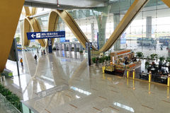 KUNMING CHANGSHUI Airport Royalty Free Stock Image