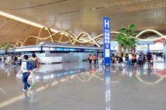 KUNMING CHANGSHUI flygplats Arkivbilder