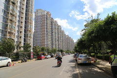 Kunming, China Residential Area Royalty Free Stock Photos