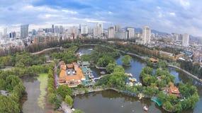 Kunming city  china sunset Stock Images