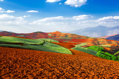 Kunming Dongchuan Red Land. Eastphoto, tukuchina, Kunming Dongchuan Red Land, Nature, Beauty Stock Images