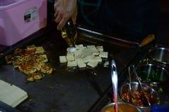 Kunming frió el queso de soja imagenes de archivo