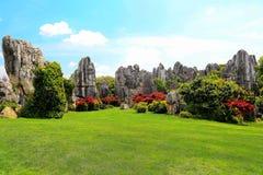 Kunming kamienia Lasowy Sceniczny teren fotografia royalty free