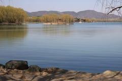 kunming lake royaltyfri bild