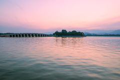 Kunming Lake. Eastphoto, tukuchina, Kunming Lake, outdoor scenery Royalty Free Stock Images