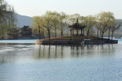 Kunming lake of summer palace Royalty Free Stock Photos
