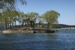 Kunming lake of summer palace Royalty Free Stock Images