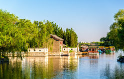 Kunming Lake at the Summer Palace in Beijing Stock Image