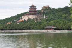 Kunming Lake in the Summer Palace in Beijing scenery Stock Photography