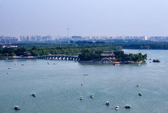 Kunming Lake at the Summer Palace Garden. Beijing, China Stock Image