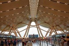 Kunming lotnisko, Yunnan zdjęcia stock