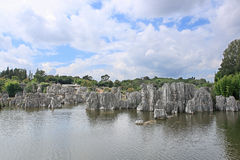 Kunming Stone Forest Scenic Area Royalty Free Stock Images