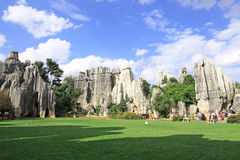 Kunming Stone Forest Scenic Area Royalty Free Stock Photography
