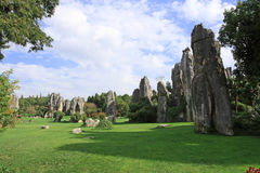 Kunming Stone Forest Scenic Area Royalty Free Stock Photo
