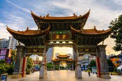 Kunming-Tor Stockfoto
