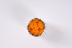 Kunna av skalade tangerin arkivfoton